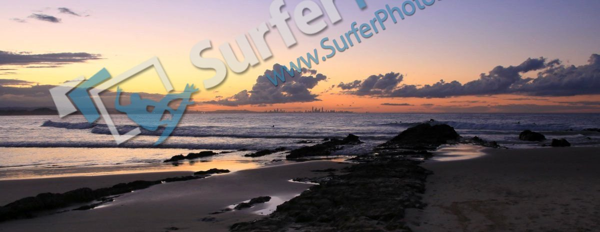 Snapper Rocks Sunset – 21 June 2014